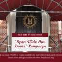 """Open Wide Our Doors"" Campaign!"