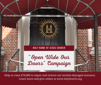 """""""Open Wide Our Doors"""" Campaign!"""