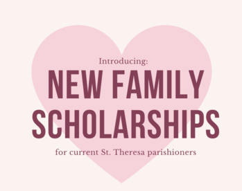 NEW! Scholarships for New Families