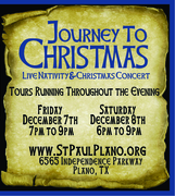 Journey to Christmas - Live Nativity & Christmas Concert Night 1