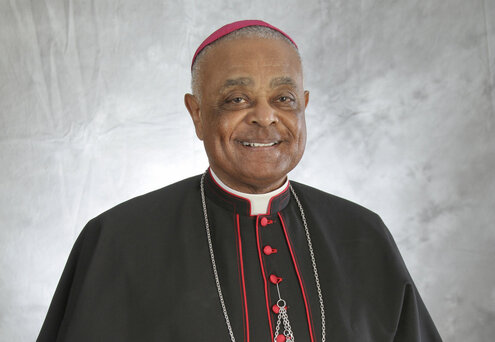 For Black History Month, click photo to learn about Cardinal Wilton Gregory!