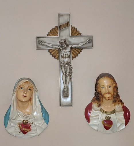 Immaculate Heart of Mary, Sacred Heart of Jesus icons