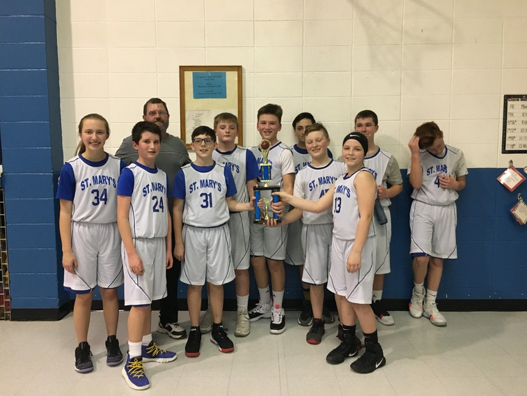 Congratulations to our basketball team on winning the championship