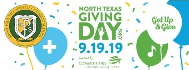 North Texas Giving Day Gap Donation North Texas Giving Day is 09.19.19, donate on this day or schedule your gift starting 09.09.19.
