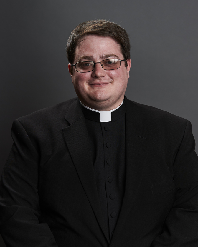 Rev. Mr. Andrew Killeen; 4th Theology, Notre Dame Seminary; Sponsored by St. Pius X, Lafayette