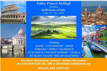 Join us on our trip to Italy!