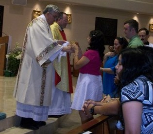2011-2012 RCIA at the Easter Vigil