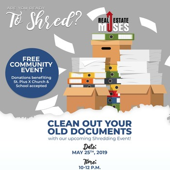 Free Shredding today!