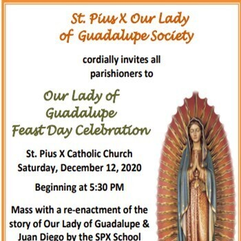 Our Lady of Guadalupe Feast Day Celebration