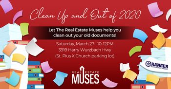 Annual FREE Shredding Event sponsored by the Real Estate Muses!