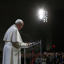 Pope at Sept. 11 Memorial: Violence Is Never Impersonal, Always Brings Tears