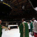 Massgoers Express 'Gratitude, Holy Longing' At Madison Square Garden