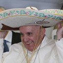 Cookies, Sombrero And A Shoe Shine: Even Reporters Give Pope Gifts