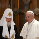 A Brotherly Embrace Brings Pope And Russian Patriarch Together