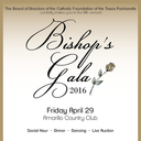 Fifth Annual Bishop's Gala April 29