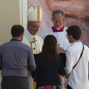WYD: Volunteers Quiz Pope, Get Advice During Special Luncheon
