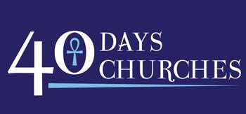 40 Days, 40 Churches