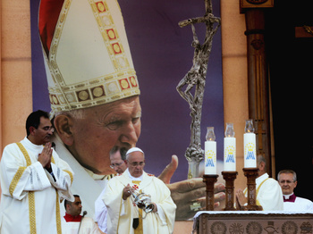 Pope: St. John Paul's Example Lives On