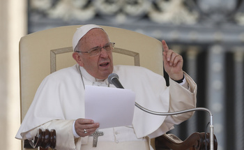 Pope: 'Scandal' Of Inequality, Fear Of Marriage Must Be Addressed
