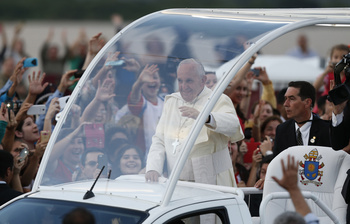 The Pope's 'Staycation': Correspondence, Trip Preparation Fill His Days