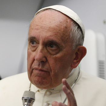 Pope Says He'll Read Critiques Of His Economic Thought Before U.S. Trip