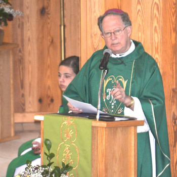 Bishop Patrick J. Zurek's Sunday Homily