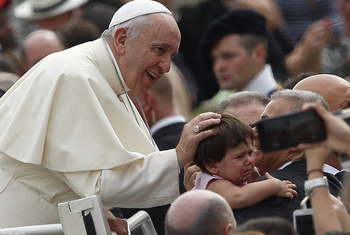 Pope: It's Disgraceful People Forced Onto Streets In 'Civilized' Cities