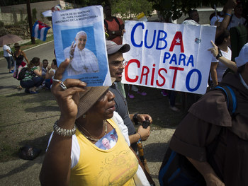 With Pope's Arrival, 'God Has His Hand In Cuba'