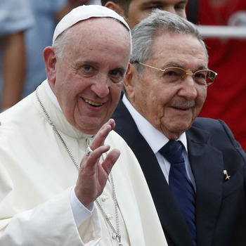 Pope Arrives In Cuba Calling For Freedom, Better U.S.-Cuba Relations