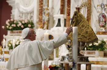 Visit To Cuban Shrine Gives Pope Quiet Time For Prayer