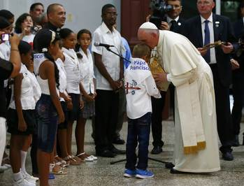 Pope Calls For 'Revolution Of Tenderness' In Cuba