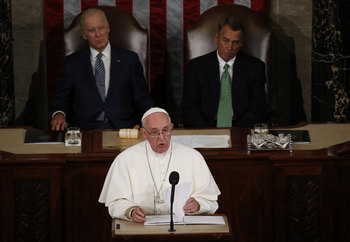 Pope To Congress: Stop Bickering, World Needs Your Help