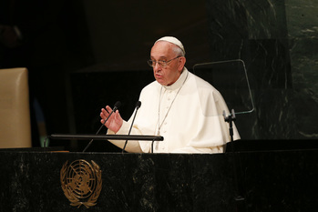 Pope At U.N.: People Come First, Human Life Is Sacred