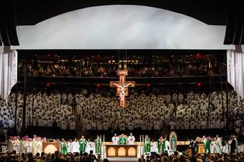Pope Brings Gospel Of 'Encounter' To Madison Square Garden
