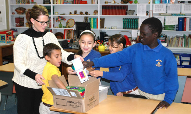 St. Joseph's Students Participate In Operation Christmas Child
