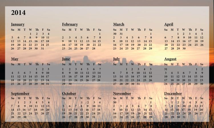 Information Requested for 2014-15 Diocesan Calendar