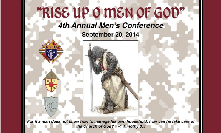 4th Annual Diocesan Men's Conference