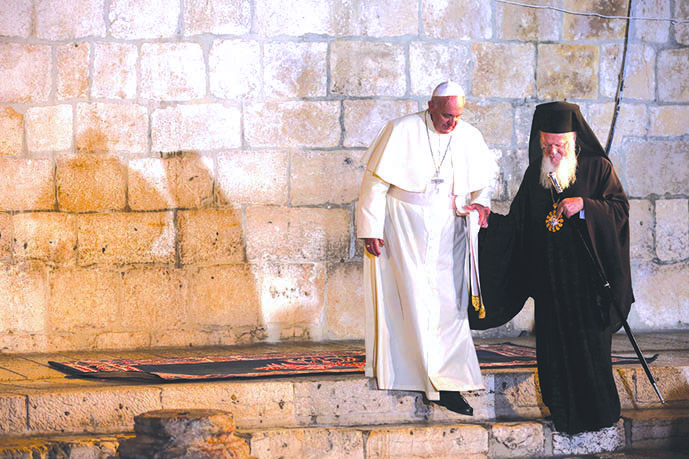 Pope: Only God Can Bring Peace to the Holy Land