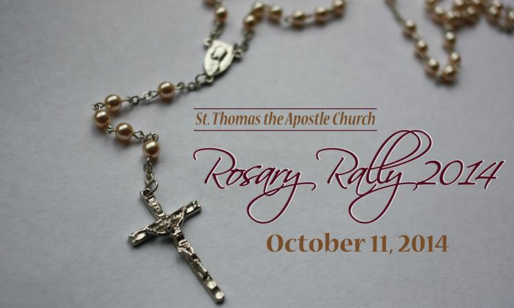 St. Thomas Rosary Rally