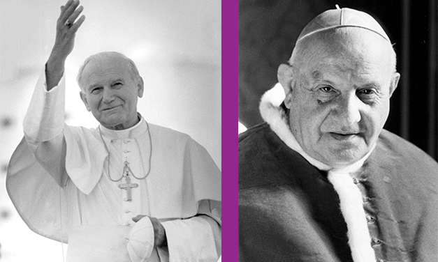Prayer, Charity Surround John XXIII, John Paul II Being Declared Saints
