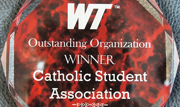 Catholic Student Center Honored by West Texas A&M University
