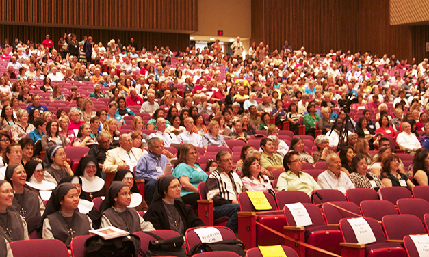 Faithful Fill Civic Center Auditorium For Year Of Faith Celebration