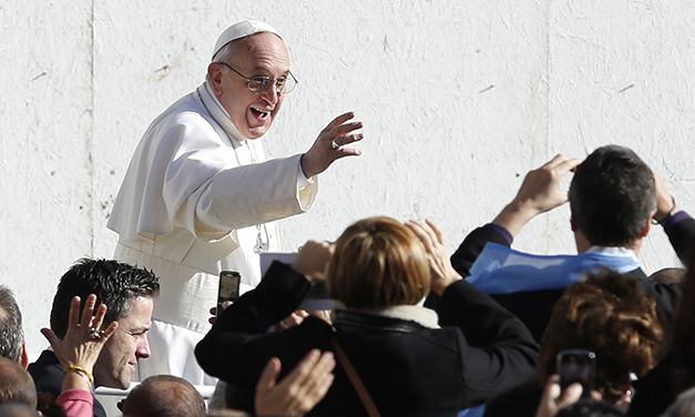 Pope Francis Begins Papacy Pledging To Protect Church, Human Dignity
