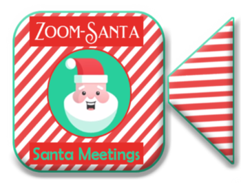 Zoom Meeting with Santa