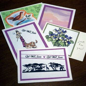 Ministry of the Sick Card Making Party