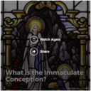 Why do we celebrate the Immaculate Conception?