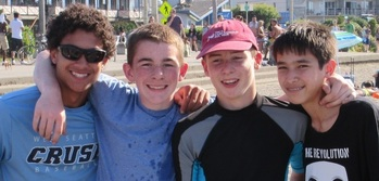 End of Year Youth Group Picnic at Alki