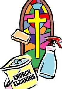 Lenten Cleaning Party, Saturday, April 1, NO JOKE!
