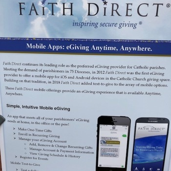 FAITH DIRECT- eGiving Campaign -ZERO TO 100