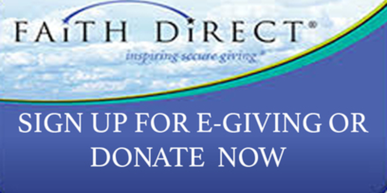 Faith Direct online secure giving donate now